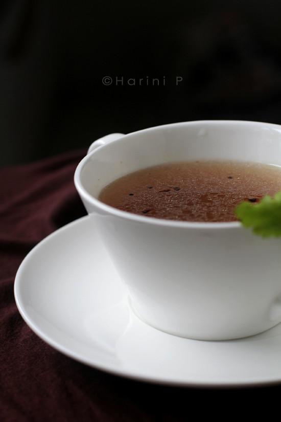 Molagu rasam ~ Mulligatawny Soup