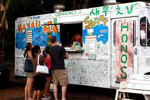@ honos shrimp truck