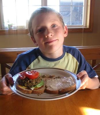 Black Bean Burgers @ Angie's Healthy Living Blog