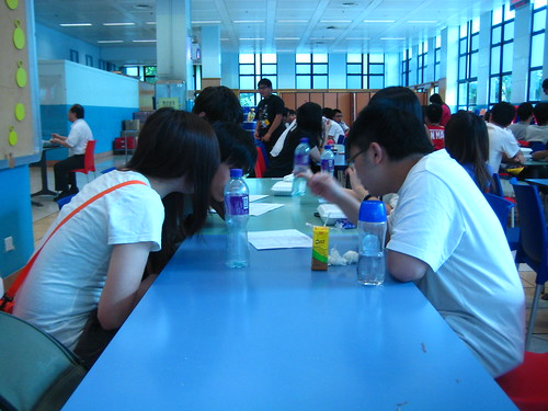 Preparing at the Canteen
