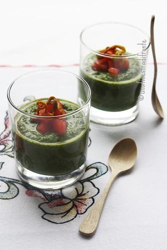 Crema di talli di zucchina