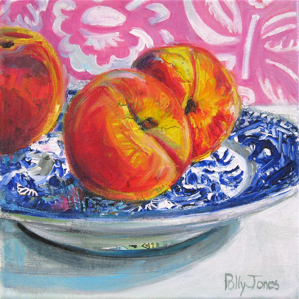 Sedwick Studio Purple Bowl Of Plums Fruit Bowl Still: The World's Best Photos By PollyPainting