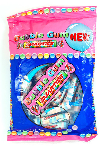 Smarties Bubble Gum