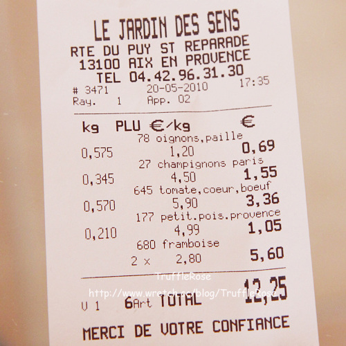 De Jardin Des Sens (蔬果店)-Puyricard-100520