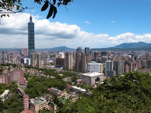 象山看台北