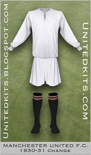 Manchester United 1930-1931 Change kit