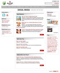 social media newsroom