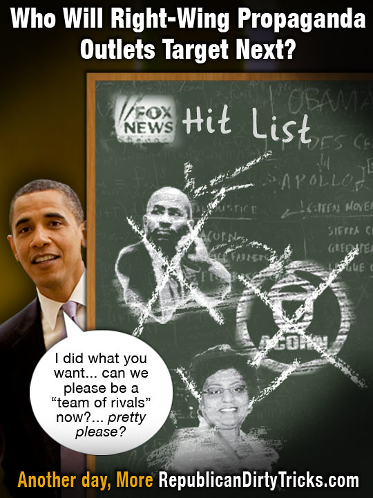 Obama Capitulates to Fox News Hit List