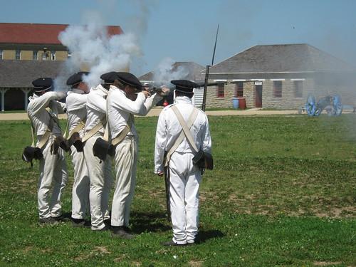 Firing Muskets