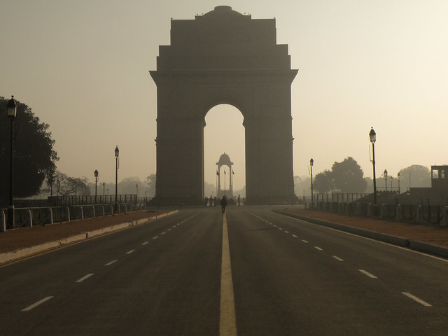 Take a stroll down Rajpath - literally the Royal Way - to India Gate