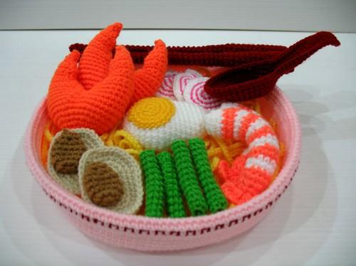 Crochet Ramen Seafood Noodles
