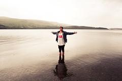 Paul Watson (Jordan Green) Tags: boy lake man get guy green feet water kids paul person photography scotland stand model ray yeah know can we jordan watson skater loch too ban lomond ya yeahwecangetkidstostandinwatertooyaknow