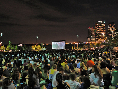 Movies with a View at Pier 1