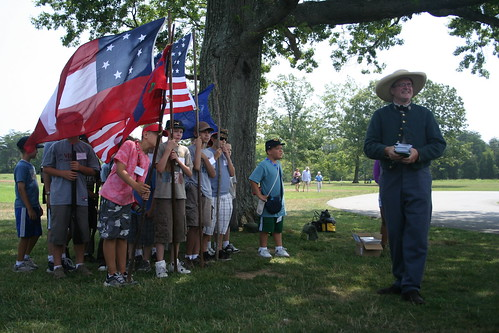 7/23/10 - Civil War camp discharge
