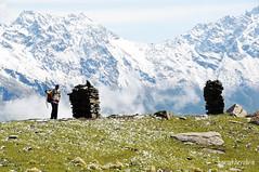 Extacy (Kaushlendra) Tags: india white snow green nature water beautiful trek goal nikon power walk footprints d30 source himachal himalayas kinnaur extacy uttarakhand kaushlendra nikond300 kaushlendrasingh kaushlendraphotography indiahikes