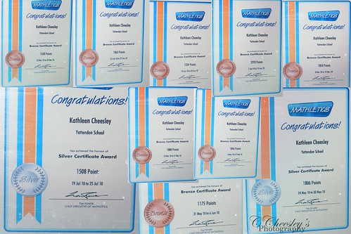 10 Mathletics Awards - small