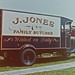 J Jones family butcher vintage van