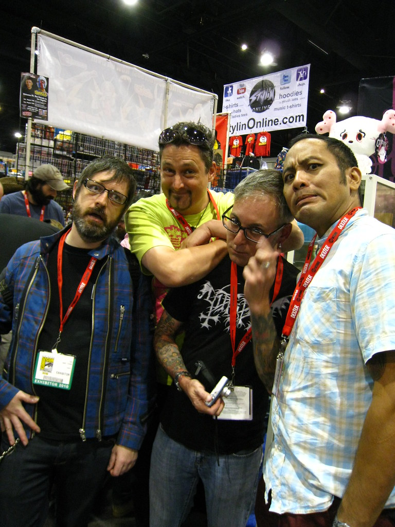 Faces of SDCC 2010