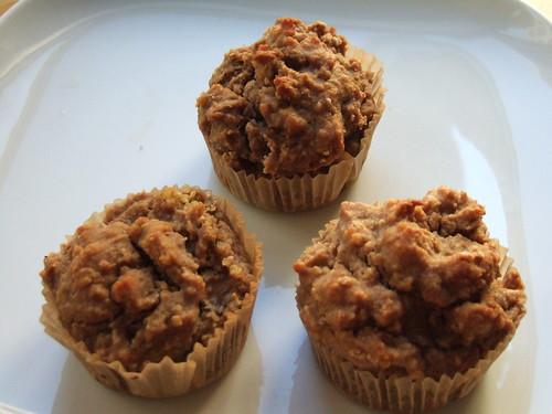 Banana Quinoa Muffins from Daily Dietribe