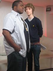 Sean Kingston on Sony Ericsson's Pocket TV (Pocket TV) Tags: sonyericsson pockettv seankingston mattedmondson