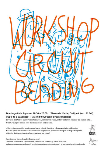 Work Shop, Circuit Bending @ Quilpue