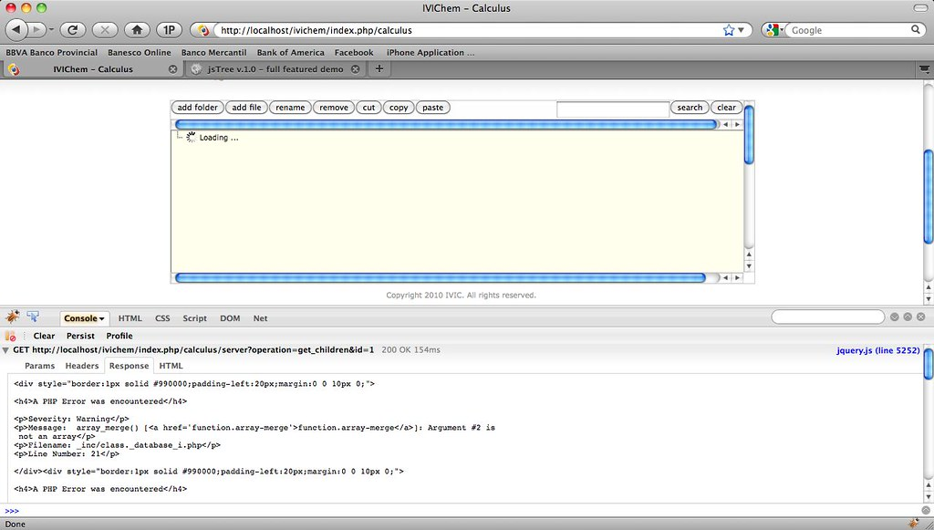 CodeIgniter Forums - CodeIgniter and jsTree integration