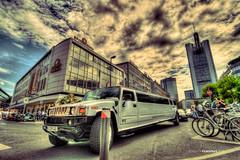 Long Hummer at Frankfurt