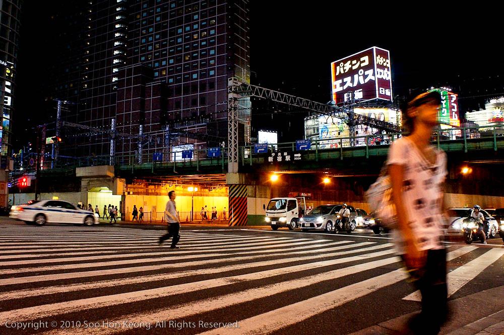 Night out at Shinjuku @ Tokyo, Japan