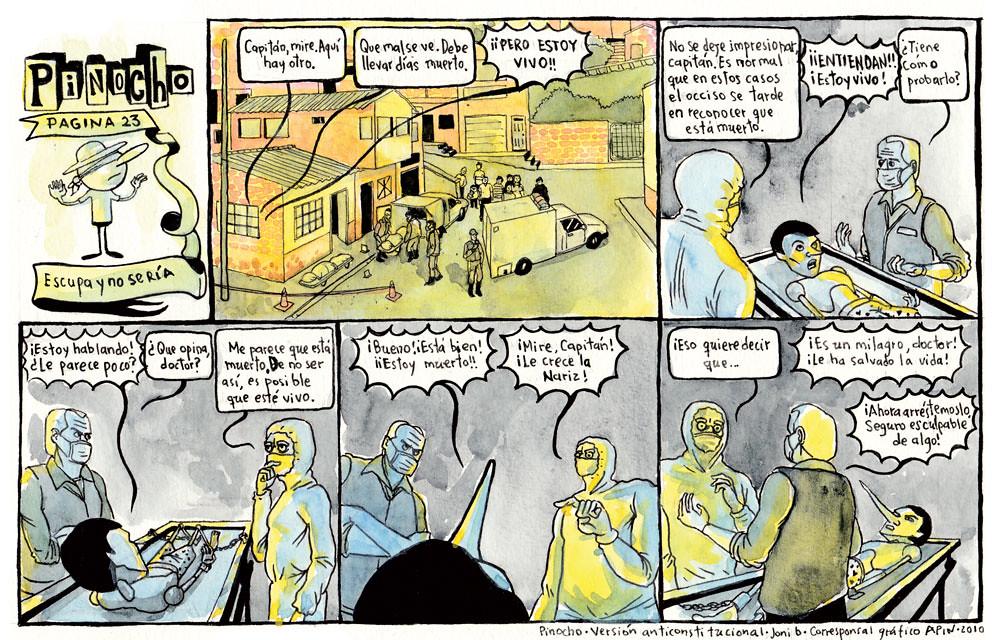 PÁGINA 23: ESCUPA Y NO SE RÍA