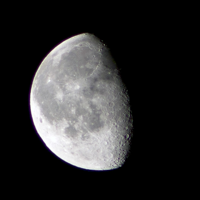 moon close-up