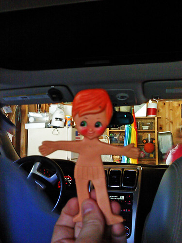 Flat Stanley went for a ride