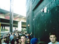 line for a show