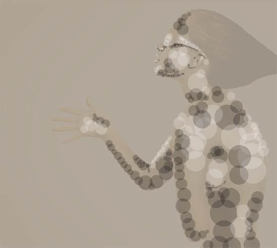 burbujas con photoshop