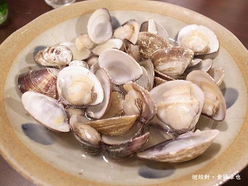 和幸日本料理蒸酒蛤
