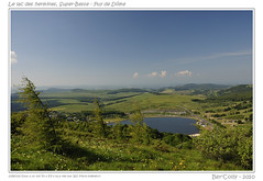 Super-Besse (BerColly) Tags: sky mountain lake france clouds montagne landscape google flickr lac ciel nuages paysages auvergne puydedome superbesse francelandscapes bercolly lacdeshermines