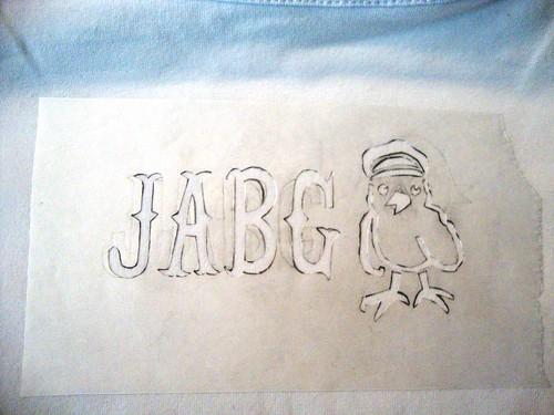JABG Biker Chick - Stencil