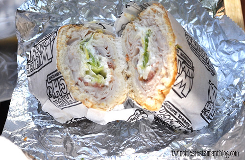 Turkey Bacon @ Which Wich ~ Austin, TX