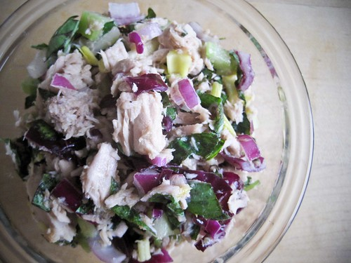 Basil-Lime Tuna Salad