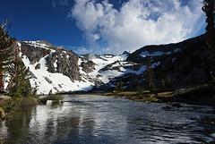 Hiking the JMT_0073 (chalifour.eric) Tags: snow ice pacific trail backpacking yosemite pct mtwhitney sierranevada nationalparks lonepine alpinelake msr jmt anseladamswilderness inyonationalforest johnmuirtrail pentaxkm pentax1224mmf4