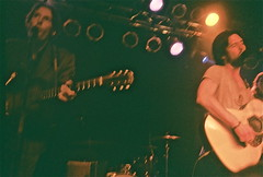 Conor Oberst and David Rawlings (driftinggypsy) Tags: hootenanny conoroberst concertforequality