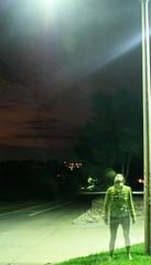 36/365. And breathe me. (TheFlip) Tags: street longexposure light shadow house green feet hoodie streetlight colorado ghost lightpost sia day36 365days 365project breatheme