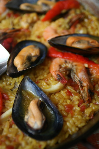 Paella Close Up