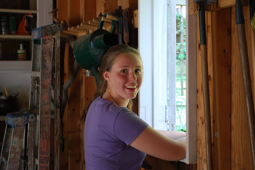 Alison Fritz is all smiles in her hobby as a beekeeper, among the youngest in the DC area.""