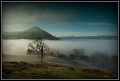 Caer Caradoc From The Lawley (Yagoobian) Tags: mist church fog canon landscape eos long hills 1740mm caradoc lawley scenics mynd longmynd the caer stretton 400d yagoobian