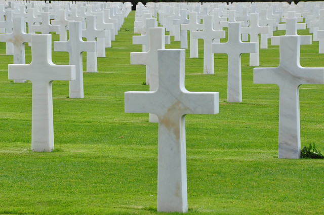 Normandy American Cemetery - Omaha Beach (France)