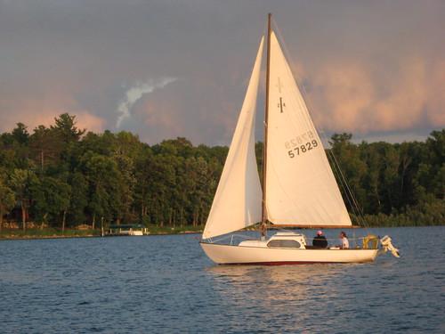 minnesota sailboat boat bill jane wind adventure walker loons baldeagles leechlake sandlodge 072809