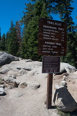 Panoramic Trail Photo