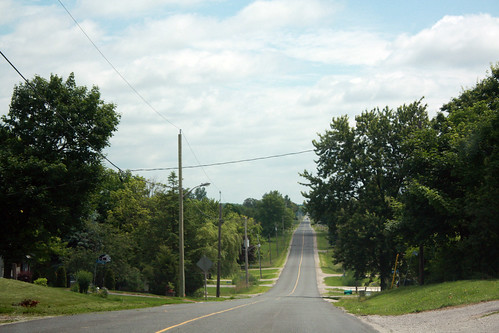 The road to Norwich, Ontario