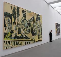 Neo Rauch, Pinakothek der Moderne, München (Werner Schnell Images (2.stream)) Tags: ws münchen munich pinakothek der moderne neo rauch exhibition museum ausstellung