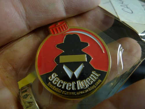 Secret Agent Geocoin